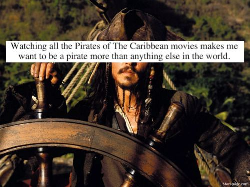 Pirates of the Caribbean Confessions