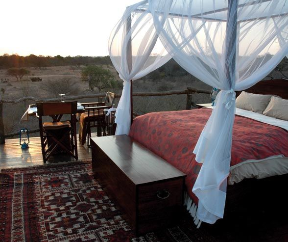 Spend an unforgettable night in the Tinyeleti Treehouse, falling asleep to the sounds of South African wildlife.