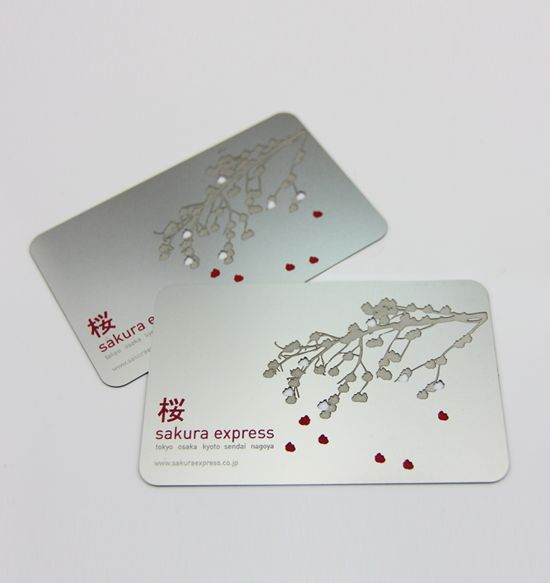 Formink - Stainless Steel Metal Business Cards