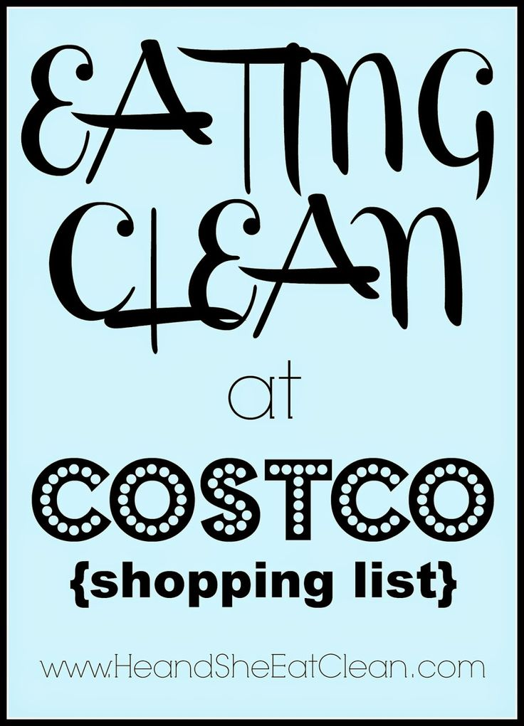 This clean eating Costco shopping list is amazing! It has each item, price, and recipes to use the items. #heandsheeatclean
