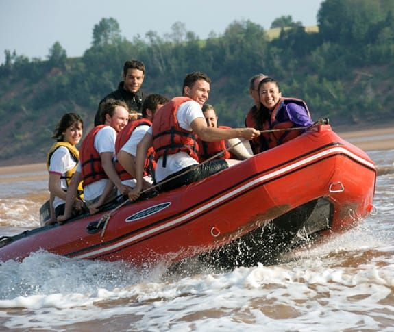 The Bay of Fundy   World's Highest Tides, Tidal Bore Rafting, Whales