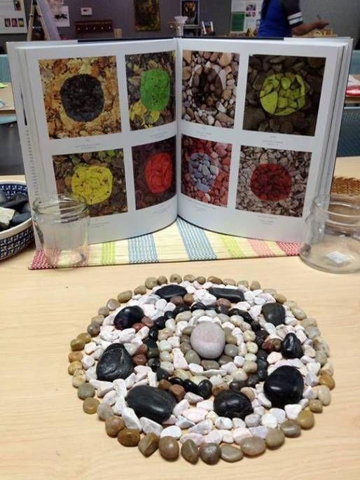 Invitations to Explore with Rocks   Reggio Inspired Provocations