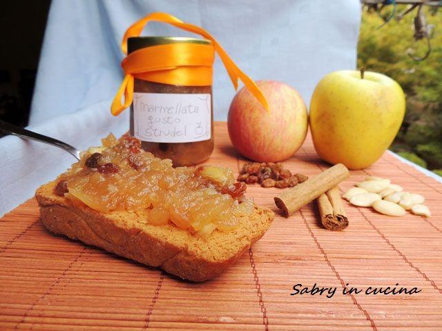 Marmellata gusto strudel - Ricetta autunnale | Sabry in cucina