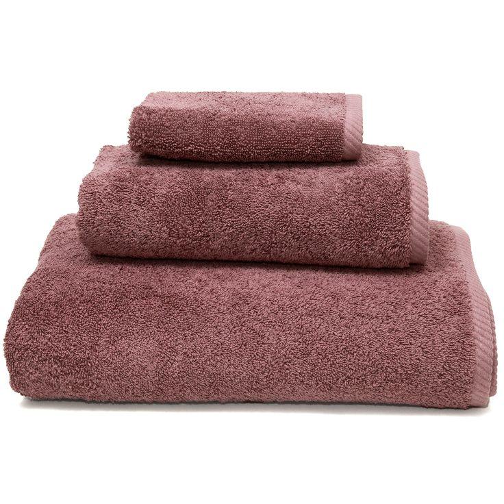 Linum Home Textiles 3 Piece Soft Twist Premium Authentic Soft 100% Turkish Cotton Luxury Hotel Collection Towel Set, Sugar Plum