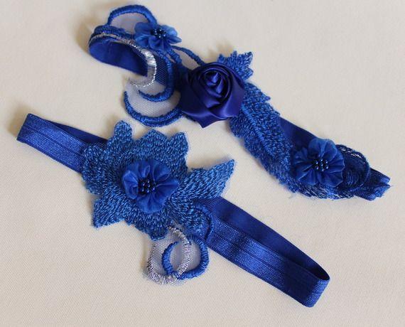 Aksesuar düğün, mavi dantel gelinlik Jarretièr, düğün aksesuarları, gelin iç çamaşırı, düğün iç çamaşırı,