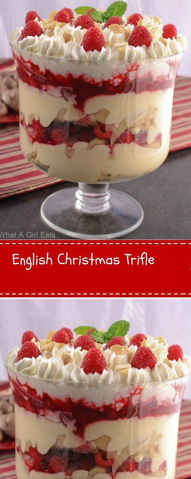 English Christmas Trifle Christmas Cookies Home Delicious Recipe
