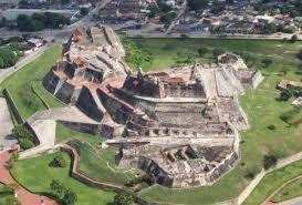 Vista aérea del castillo de San felipe