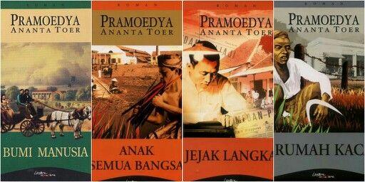 Pramoedya Ananta Toer - Bumi Manusia, Anak Semua Bangsa, Jejak Langkah, Rumah Kaca.