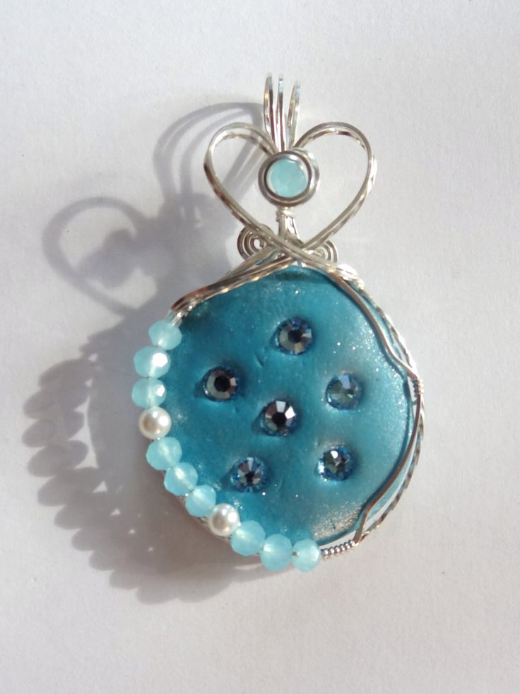 106 best Crystal Clay Jewelry images on Pinterest | Jewelry ideas ...