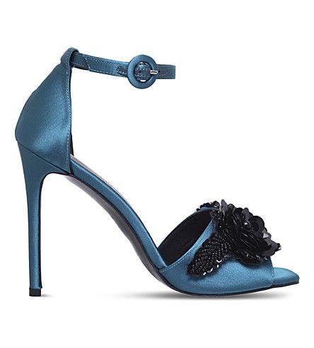 KURT GEIGER LONDON - Slay satin heels | Selfridges.com