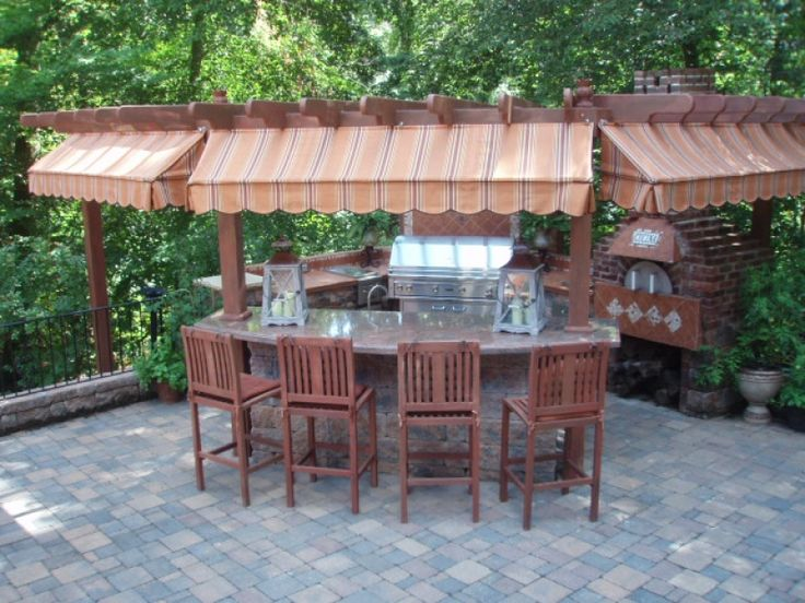 Outdoor kitchen on a budget diy outdoor projects for Outdoor kitchens on a budget