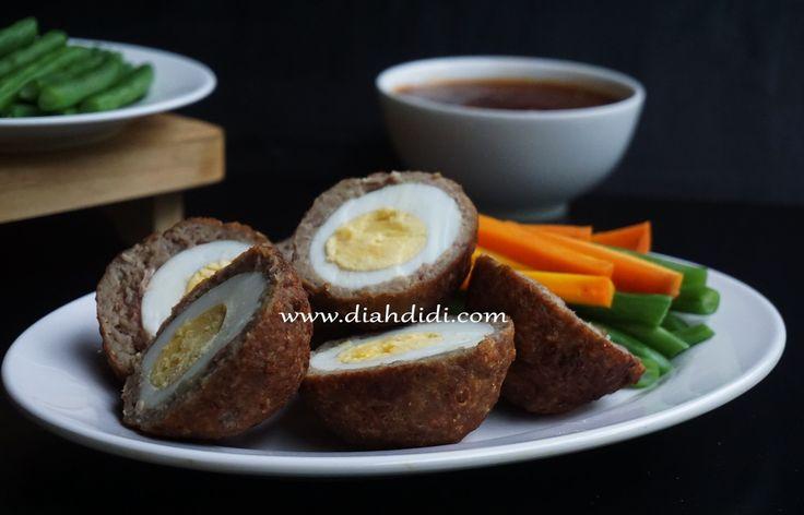 Diah Didi's Kitchen: Bola-Bola Daging Isi Telur