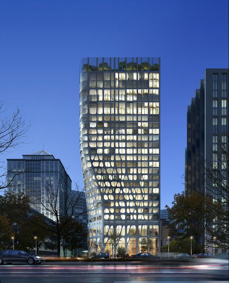 Conrad #Hotel in Beijing, China by MAD Architects