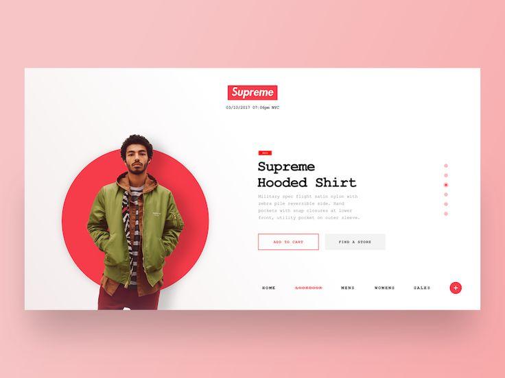 Supreme | Clean Online Ecomerce Store Website