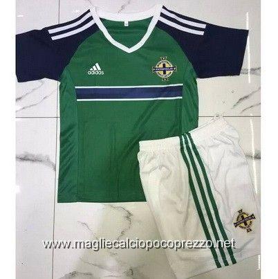 Nuova maglie calcio 2016 per maglia Bambino Northern Ireland 2016 Home