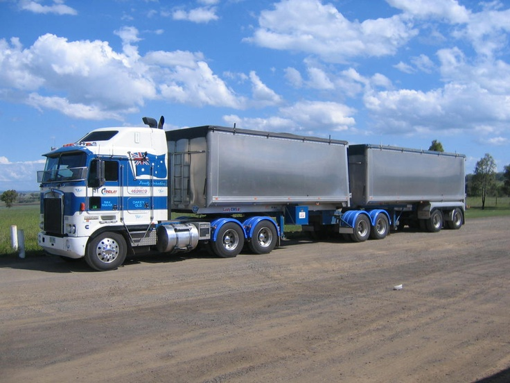 Pin by Used Trailers on Commercial Trailer Types | Fifth Wheel, Road train, Tandem