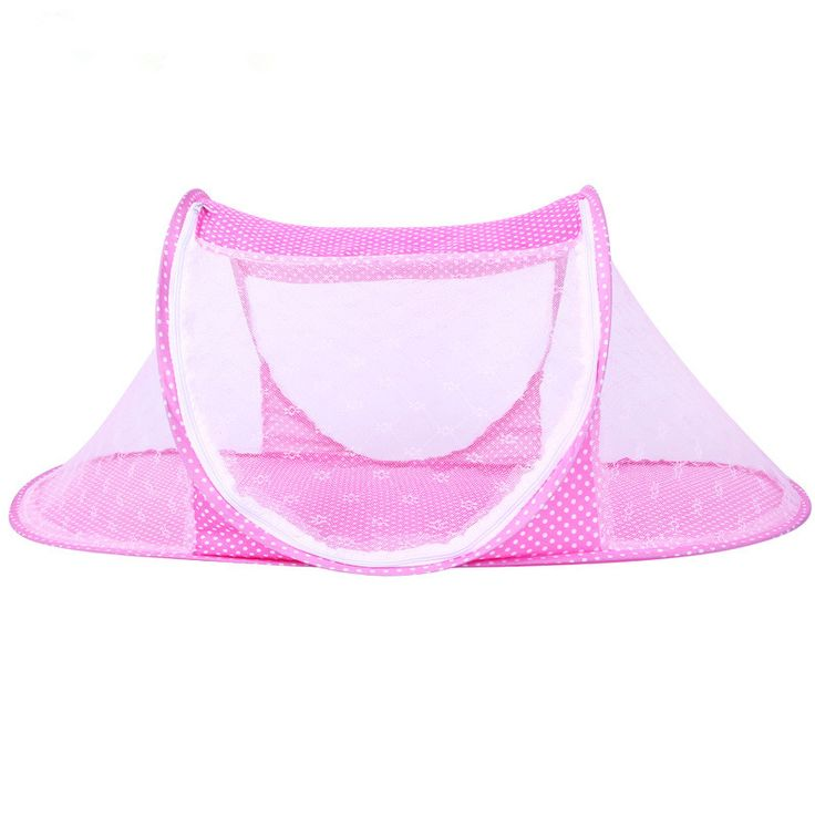 Summer Baby Crib Netting for Newborns Portable Baby Cradle Bed Infant Sleeping Bed Travel Folding Baby Bed Mosquito Net