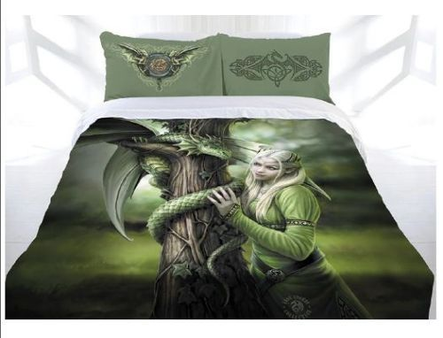 Anne Stokes Kindred Spirits Queen Size Doona Quilt cover set. Available at Kids Mega Mart Shop Australia www.kidsmegamart.com.au