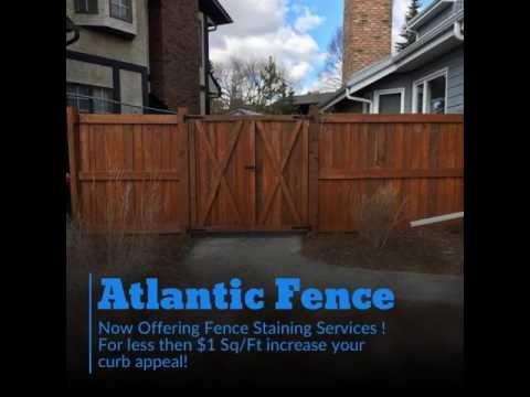 Fence Staining Edmonton AB