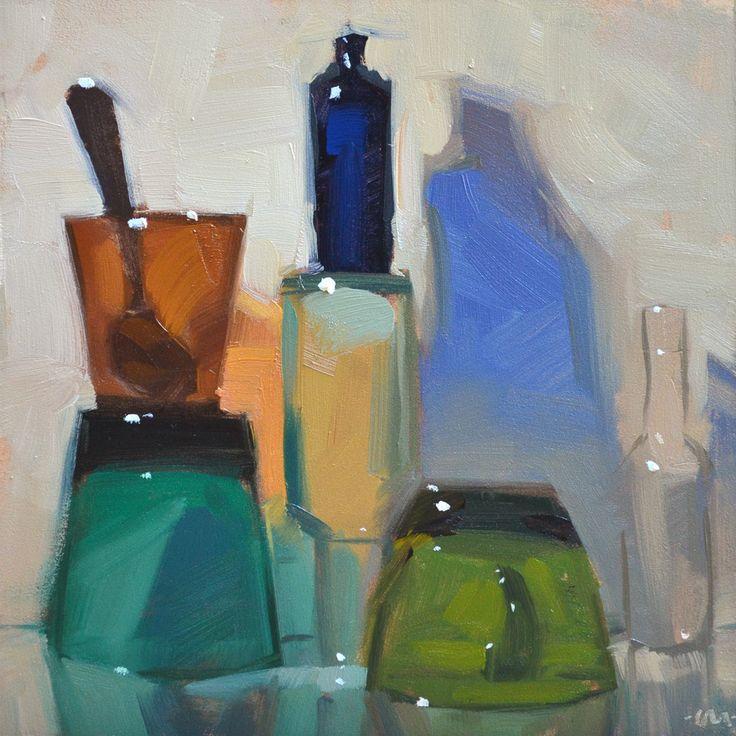 Stacked Glass, by Carol Marine