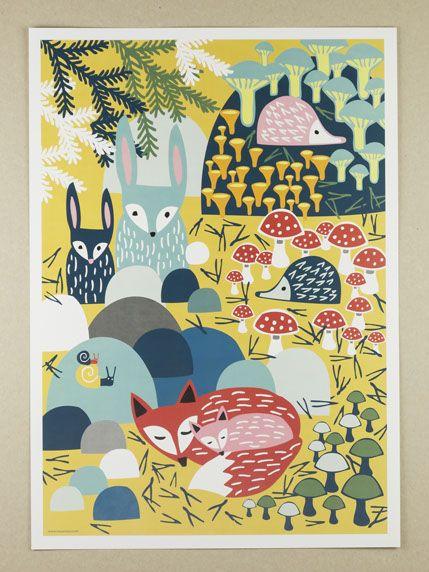 Väggdekor Alfabetet : Images about barnrum on jungle animals child