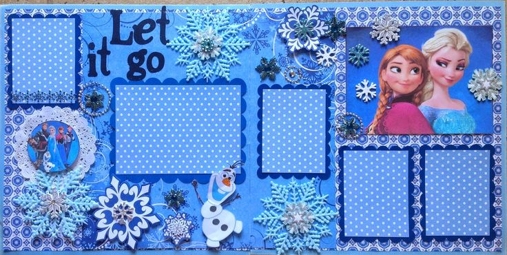 Use something similar to this for Frozen billboard at DTD from December