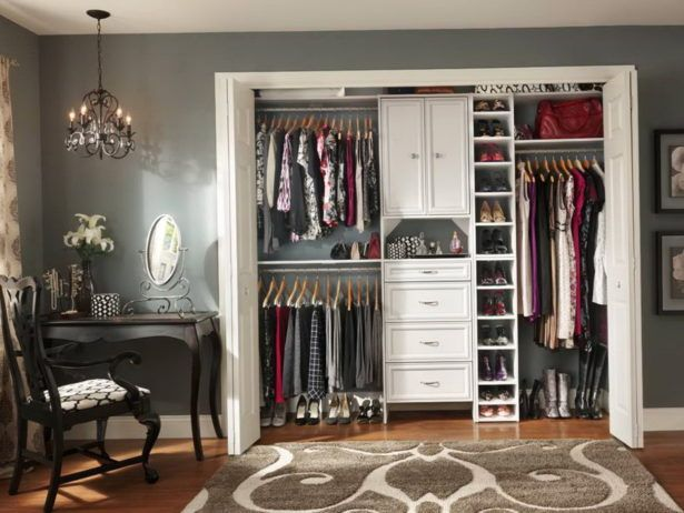 Bedroom Solid Wood Closet Organizer Systems Walk In Do It Yourself Prefab