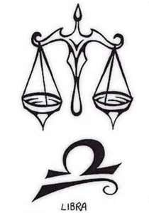 The Balancing Scale And A Libra Sign Tattoos Picture For Men