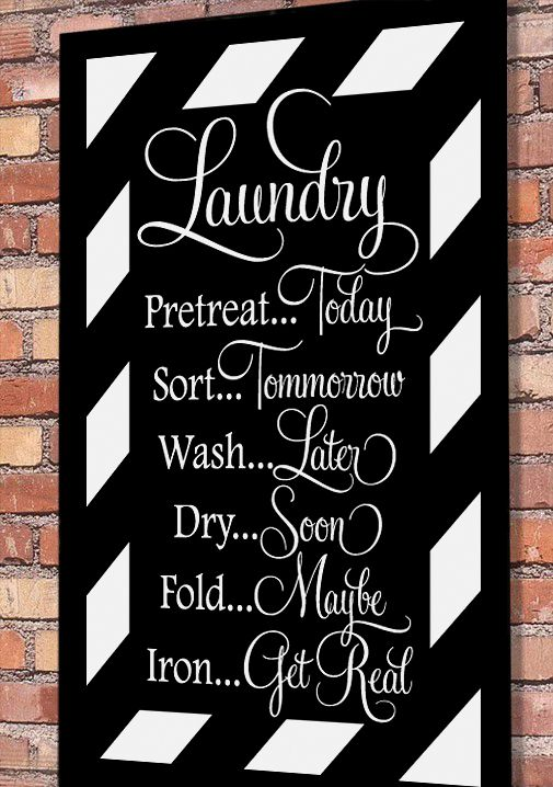Best Laundry Room Designs Images On Pinterest - Custom vinyl wall decals sayings for laundry room