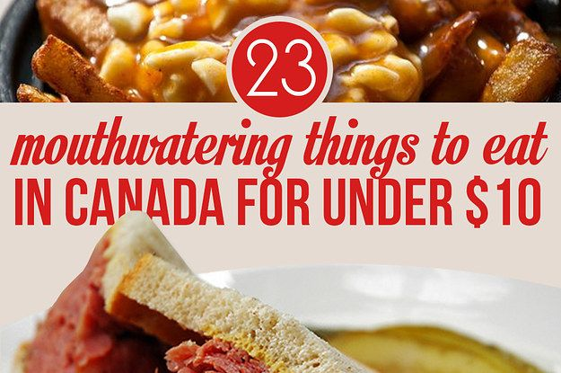 #‎Foodies‬ on a budget, here's 23 of the most delicious cheap eats in Canada.