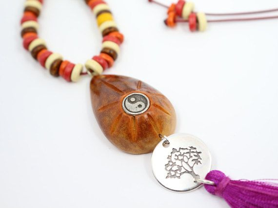 Hey, I found this really awesome Etsy listing at https://www.etsy.com/listing/286097015/boho-chic-pendant-avocado-seed-pendant