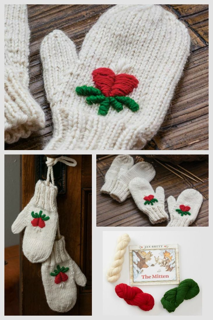 Check Out Interweave's Knitting Pattern Of The Week: Nicki's Winter  Mittens, Inspired By Jan
