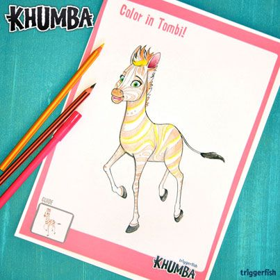 Hi Khumba Kids,  Here is another NEW, COOL & FUN ACTIVITY for all our fans!!  Why not show off your coloring in skills and color in Tombi?   #Khumbamovie #truecolours  Hey Mum's, your children can download and print straight from the website, easy peasy! Try it!  www.khumbamovie.com  You can email them back to us at wendy@khumba.com and we may post yours in the gallery!!