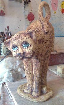 Kočka - Keramická dílna Jana