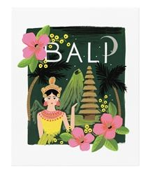 Rifle Paper Co. Bali Art Prints now at Northlight