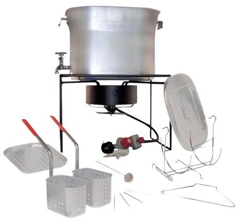 King Kooker Fry, Boil, Steam-Outdoor Chef's Hot Tub