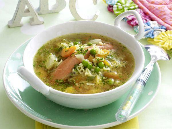 Kochen für Kinder - lecker & kreativ - abc-suppe8 Rezept