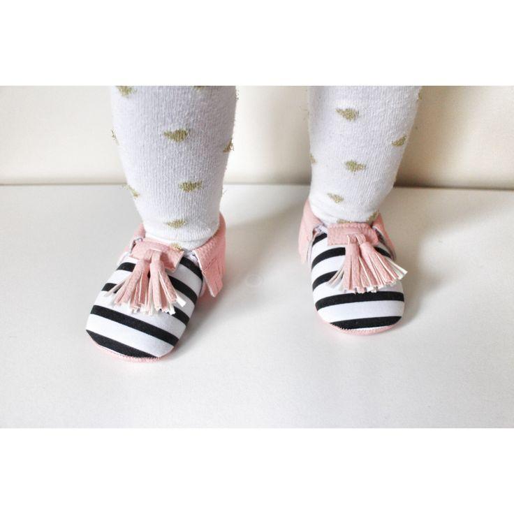 Stripe tassel Moccasins baby infant shoes💛 $19.99