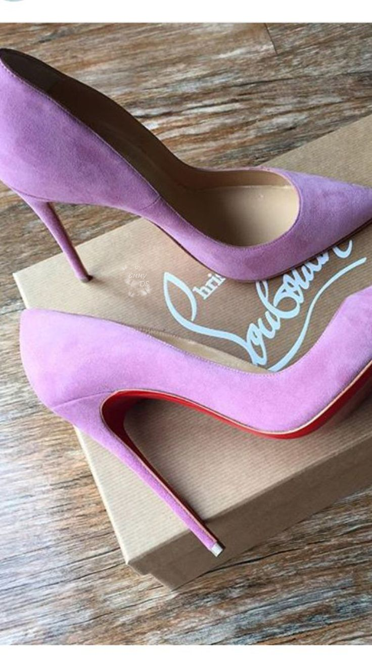 Emmy DE * Christian Louboutin Periwinkle So Kate Pumps