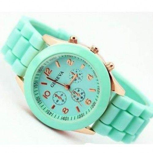 Silicon Jelly Wrist Watch - White, Mint, Red, Dark Blue & Black  Click to buy >>>  www.lillyjack.com.au