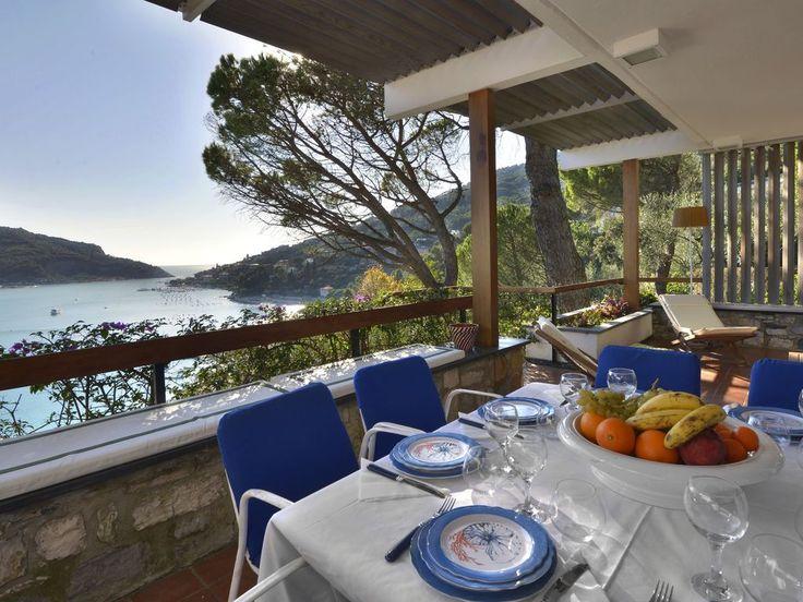 Magnifica villa con vista mare a portovenere