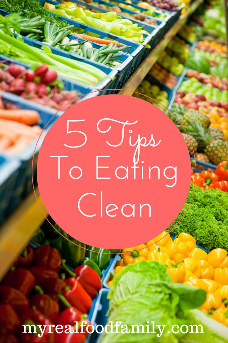 Think clean eating is tough?  Here are 5 tips to make it easier!