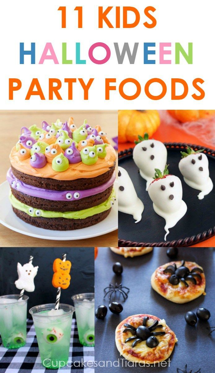 Our first Halloween Party is in planning mode.  If you are planning a Halloween party or have a child who's birthday is close to, then I have you covered for food ideas!  From cake to beverages, check it out!