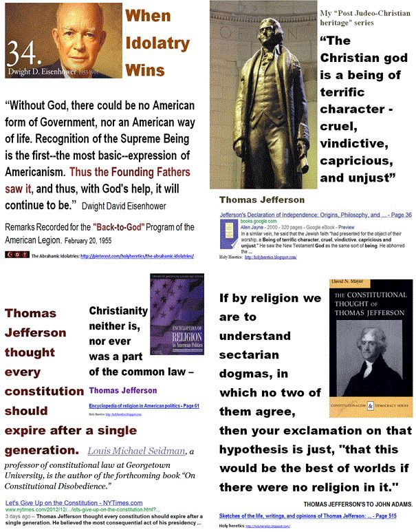 634 best Jefferson the heretic images on Pinterest | Thomas ...