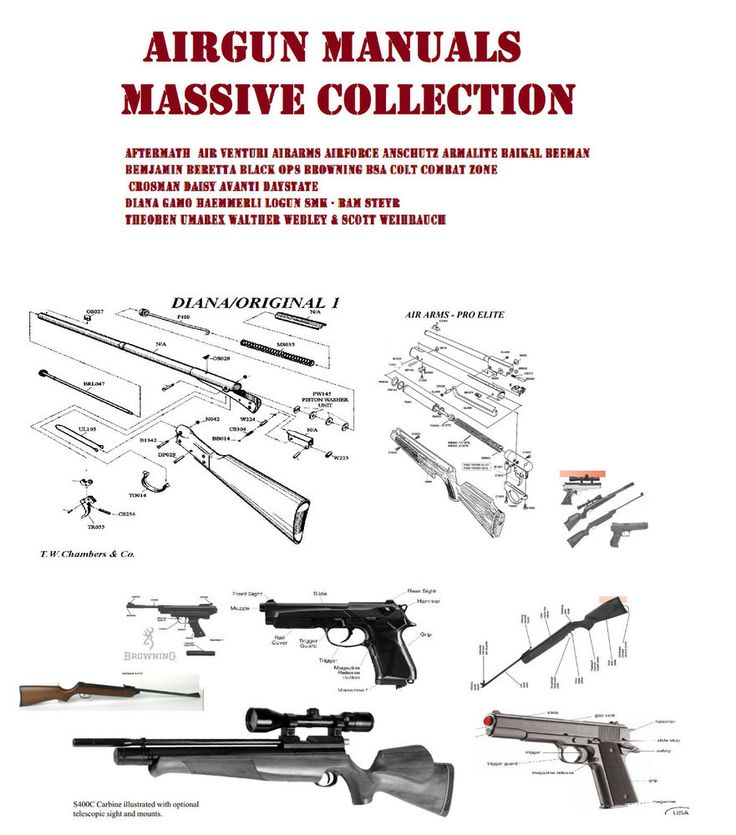 Best Air Gun Hunting Images On   Weapons Firearms