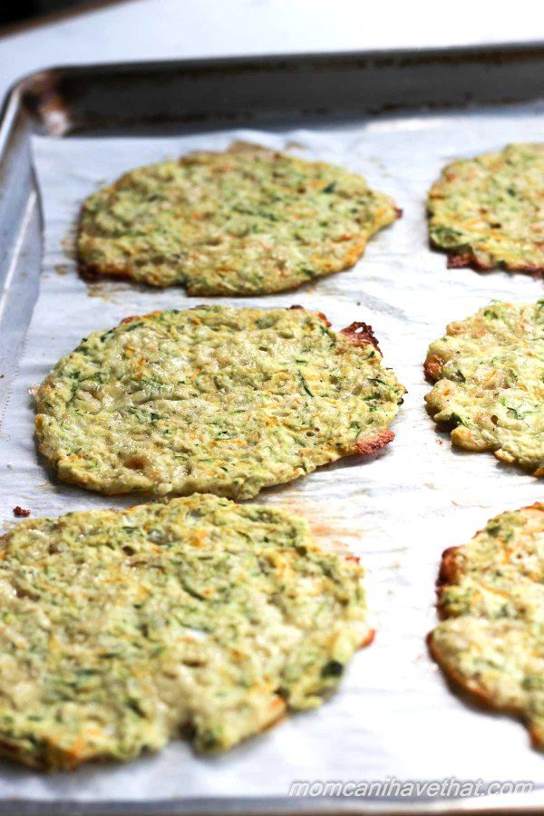 Healthy baked Zucchini Tortillas for soft tacos and fajitas. | low carb…
