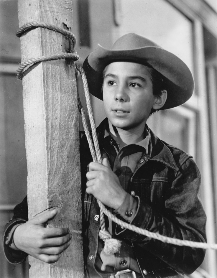 Johnny Crawford as 'Mark McCain' in The Rifleman (1958-63, ABC)