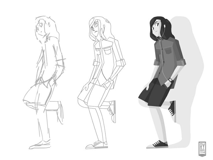 #illustration #modelsheet #boy #character #design #artwork