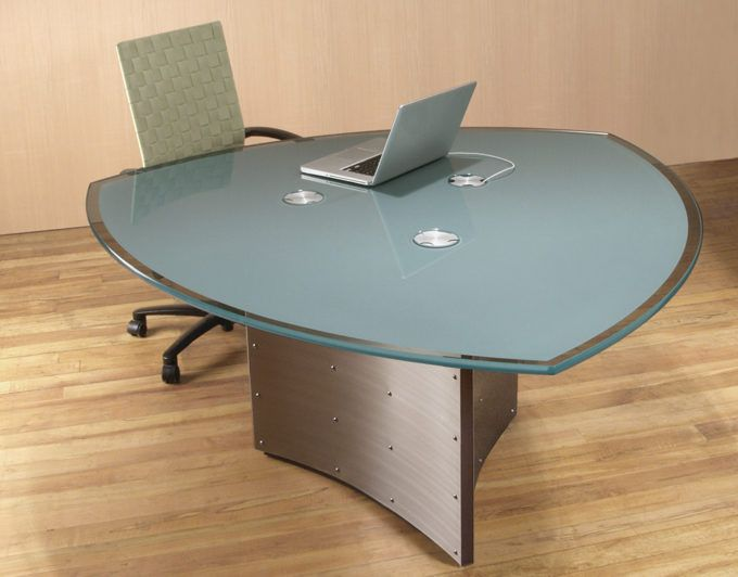 65 best modern conference tables images on pinterest meeting rooms crescent 3 sided office meeting table with integrated wiring and back painted glass keyboard keysfo Gallery