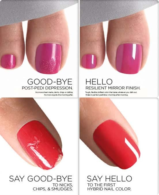 Shellac Nails Vs Gel Nail Polish